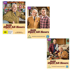 Still Open all Hours Series 1, 2, 3 & 2013 + 2016 Christmas Special DVD R4