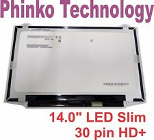 NEW 14.0 LED Slim LED Screen B140RTN03.0 B14ORTNO3.O HD+ 1600*900 30 pin