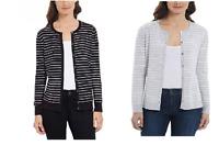 NEW! Jones New York Ladies' Button Front Cardigan Sweater Color VARIETY J51 J52