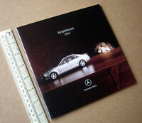 2006 Mercedes-Benz Official Model Automobile Catalogue Issued by Stuttgart.