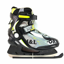 M&L Sport A 9.2 Eislaufschlittschuhe Schlittschuhe Semisoft Unisex Gr 45