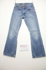 Levis 516 bootcut (Cod.J547) Tg.42 W28 L32 jeans usato boyfriens donna