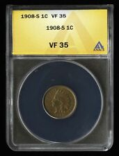 Business ANACS Indian Head Small Cents (1859-1909)