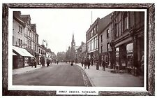 Postcard Abbey Street  Nuneaton Warwickshire Co Operative Society Co Op RPPC 6