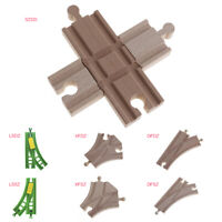 Brio Wood Rail Train Set Expansion Switch Cross Track Railway Single/Double Bead