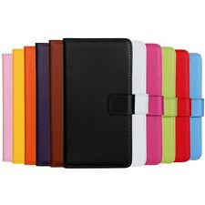 BOOK WALLET LEATHER CASE COVER POUCH FOR APPLE IPOD TOUCH 6 6TH 5 5TH GENERATION