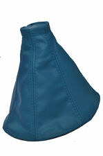 FITS FORD MONDEO MK3 01-03 GEAR GAITER LEATHER IN L BLUE