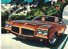 1971 PONTIAC Brochure / Catalog: TRANS AM,GTO,FIREBIRD,LeMANS,GRAND PRIX,SAFARI,