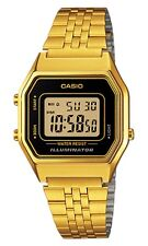 Casio LA-680G-1E Orologio Donna polso Vintage Nuovo Sveglia Luce Batt. 5 anni