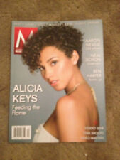 Alicia Keys Music & Musicians Magazine January 2013 Alicia Keys On Cover Unread