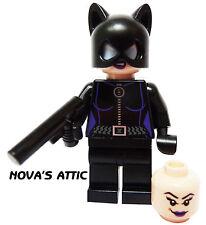 LEGO SUPERHEROS CATWOMAN DUEL HEAD  MINIFIGURE GENUINE NEW