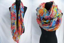 US SELLER-floral infinity scarf