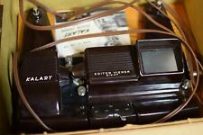 Kalart Editor Viewer Eight 8 mm Film Movie Splicer Model EV-8 Vintage US w/ box