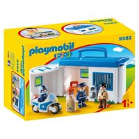 Playmobil 123 Take Along Police Station Building Set 9382 NEW Learning Toys