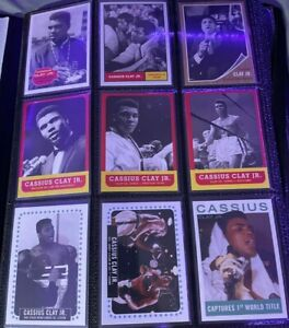 2021 Topps Muhammad Ali The People's Champ CARDS 1-60 (£420 RETAIL)