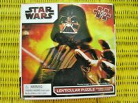 PUZZLE, 2010, STAR WARS, LENTICULAR, 100 PIECES, CARDINAL, UNOPENED.
