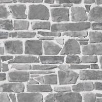Nuevo Rasch - Ladrillo Pared de Piedra Efecto - Lujo Papel Pintado Texturizado -