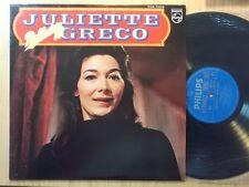 Juliette Gréco LP: reflection 18 (le Japon; fdx-7008)