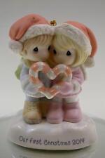 Precious Moments Ornament First Xmas Together 2014 141004 Bx FreeusaShp