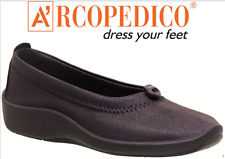 Arcopedico L1 Comfort Slip on Shoes Black 39