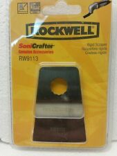 Rockwell Sonicrafter Metal Rigid Scraping Blade  -  RW-9113