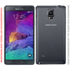 Brand New Samsung Galaxy Note 4 SM N910F 4G 32GB Black Unlocked Smartphone