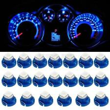 20x Blue T4.7 T5 Neo Wedge Car Trunk Auto A/C Climate LED Bulb Lamps 12V