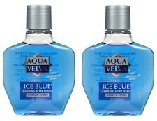Aqua Velva Classic Ice Blue After Shave Cologne 2 Bottle Pack