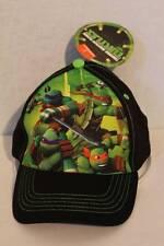 NEW Boys Baseball Cap Teenage Mutant Ninja Turtles Hat Adjustable TMNT Black