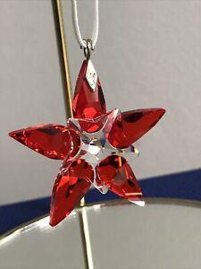 Swarovski Small Poinsettia Christmas Ornament 905210