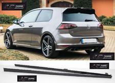 Seitenschweller R-Line Look für VW GOLF 7  + Kleber