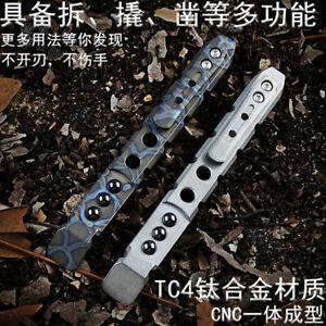 EDC Titanium alloy Crowbar tools Hand Outdoor Camping Gear Multifunction Tools