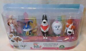 THE SECRET LIFE OF PETS 2 - *New* Collectible X2 Toy Figure Set Giochi Preziosi
