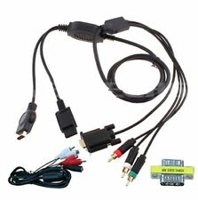 Cables y adaptadores con conexión VGA para consolas de videojuegos