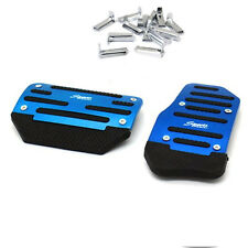Blue Thicken NonSlip Automatic Transmission Pedal Cover Brake Clutch Accelerator