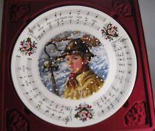 1984 Royal Doulton Bone China Christmas Carols Plate While Shepherds Watched