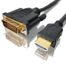 1,5m DVI - HDMI Kabel Highspeed Full-HD TV LCD Computer Adapter Kabel