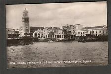 unmailed photo post card Ponta Delgado Azores Entrada para a Cais de Desembarque