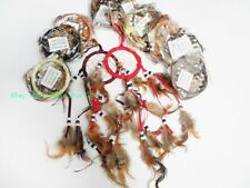 12x Wholesale LOT Handmade Hanging Natural Feather Dream Catcher Traditional #ER