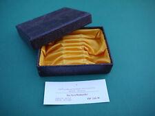 Etui für 6 Mokkalöffel Besteckkasten DDR gelb goldgelb Löffel Besteck