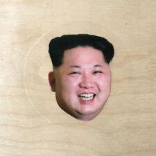 Kim Jong-Un North Korea vinyl sticker villain Dennis Rodman head leader supreme