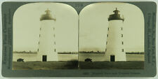 Keystone Stereoview Lighthouse, Prescott, Canada 1920's Scenic America Set # 295