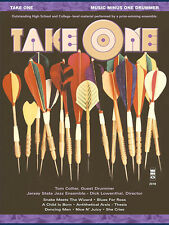 Take One Drum Solo Jazz Sheet Music Minus One Play-Along Book & 2 CD Set NEW