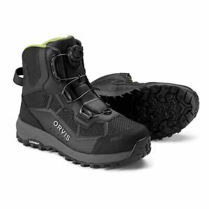 Men's Orvis Pro Boa Wading Boots Size 12 - Michelin Sole - FREE SHIPPING