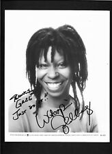 Whoopi Goldberg Signed Autograph8x10 B&W  Photo to greg With COA