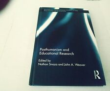 Routledge International Studies in the Philosophy of Education: Posthumanism an…