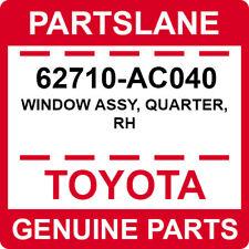 62710-AC040 Toyota OEM Genuine WINDOW ASSY, QUARTER, RH