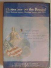 Historians on Record: Gilder Lehrman Institute Historian's Forums 2000 - 2001