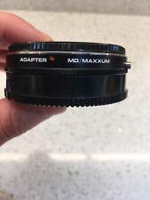 adapter Minolta MD lens to SONY DSLR MINOLTA MAXXUM