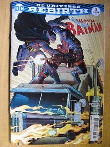 ALL STAR BATMAN #3, DC UNIVERSE REBIRTH. - DC COMIC SALE.